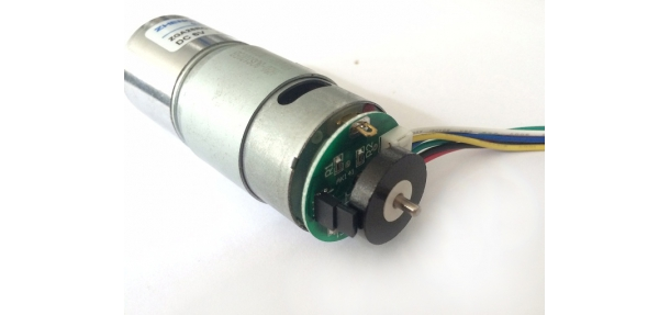 DC Geared Motor with Magnetism Encoder